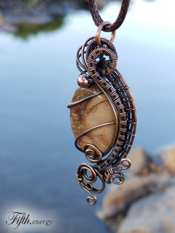 Petrified Necklace Fifth Energy Jewelry