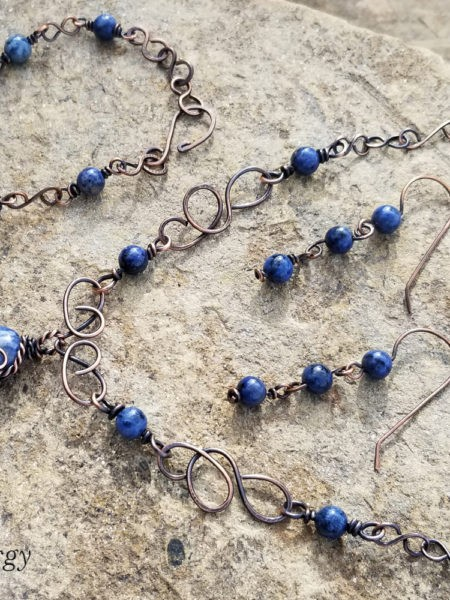 Sunset Dumortierite Fifth Energy Jewelry